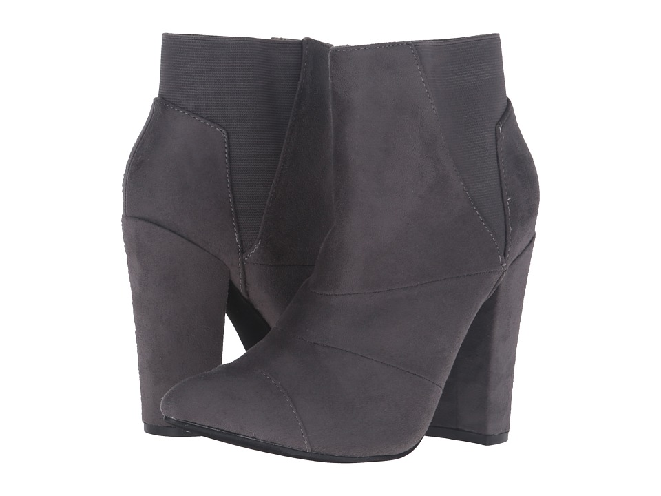Michael Antonio - Louis (Charcoal Suede) Women's Dress Boots