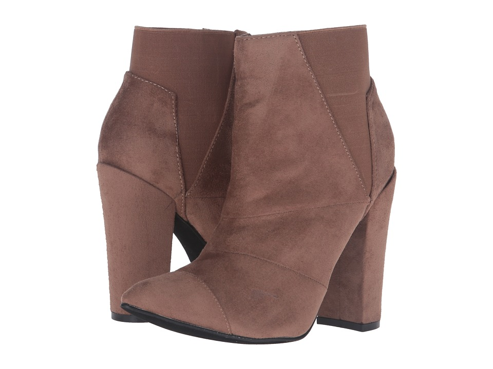 Michael Antonio - Louis (Nude Suede) Women's Dress Boots