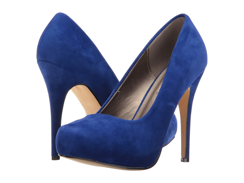 Michael Antonio Launey (Cobalt Suede) High Heels