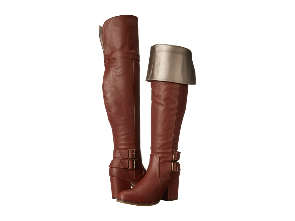 Michael Antonio - Maker (Cognac) Women's Dress Boots