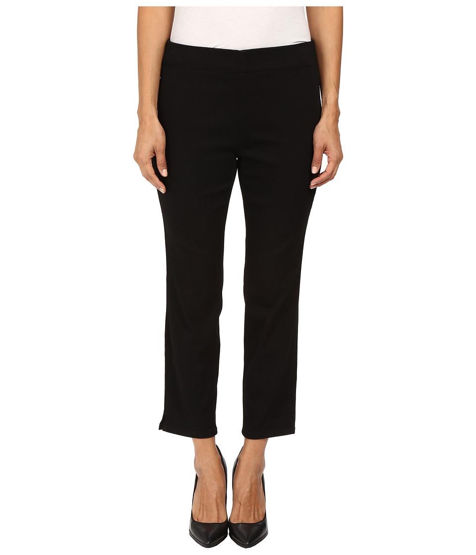 NYDJ Petite - Petite Millie Pull-On Ankle Jeans in Black Luxury Touch Denim (Black Luxury Touch Denim) Women's Jeans