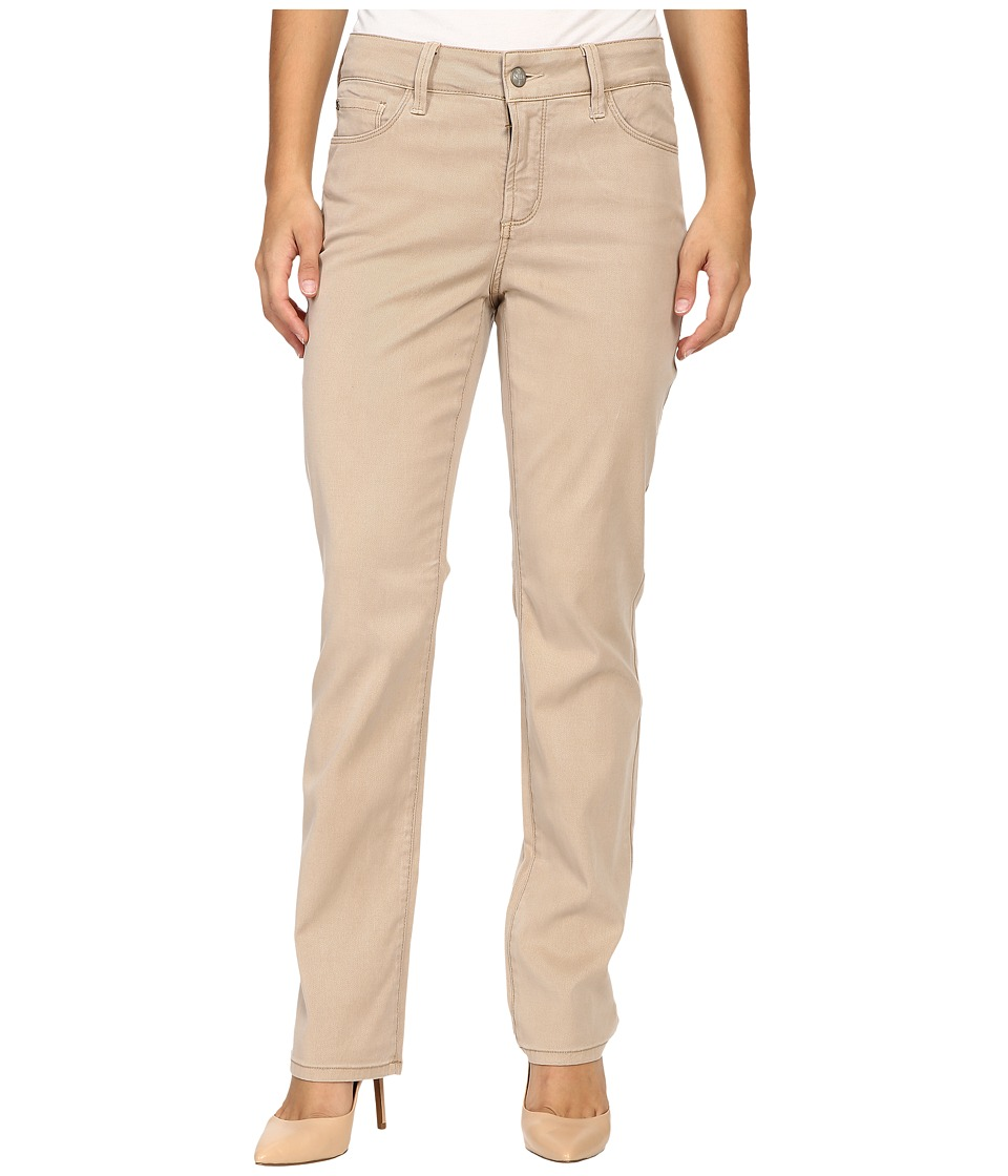 NYDJ Petite - Petite Marilyn Straight Jeans in Quicksand Chino Twill (Quicksand Chino Twill) Women's Jeans