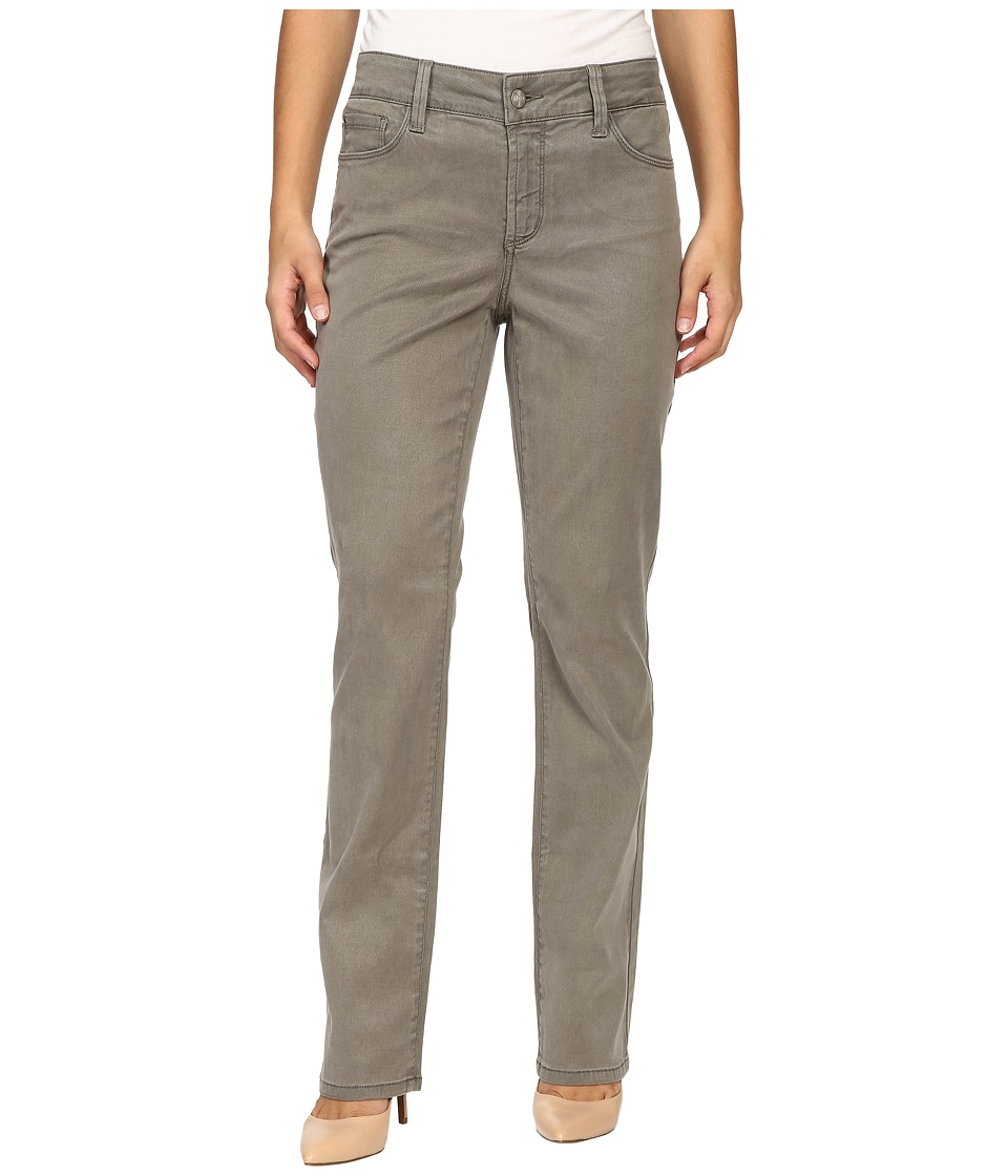 NYDJ Petite - Petite Marilyn Straight Jeans in Tabbouleh Chino Twill (Tabbouleh Chino Twill) Women's Jeans