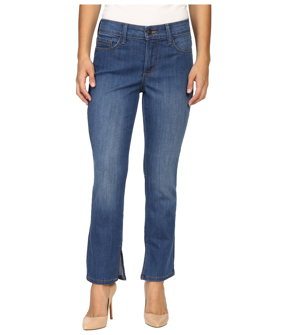 NYDJ Petite - Petite Ira Relaxed Ankle Jeans w/ Inseam Slit in Marrakesh (Marrakesh) Women's Jeans