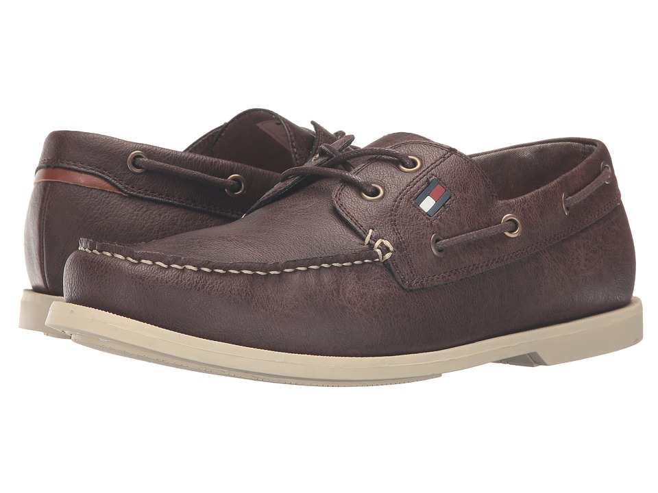 Tommy Hilfiger - Aldez 3 (Dark Brown) Men