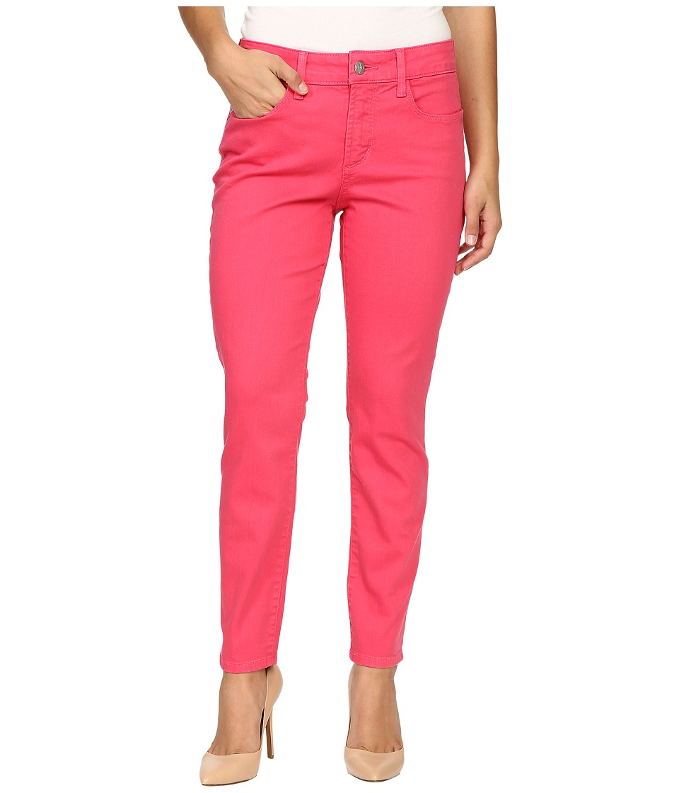 NYDJ Petite - Petite Clarissa Ankle Jeans in Exotic Melon Colored Bull Denim (Exotic Melon) Women's Jeans