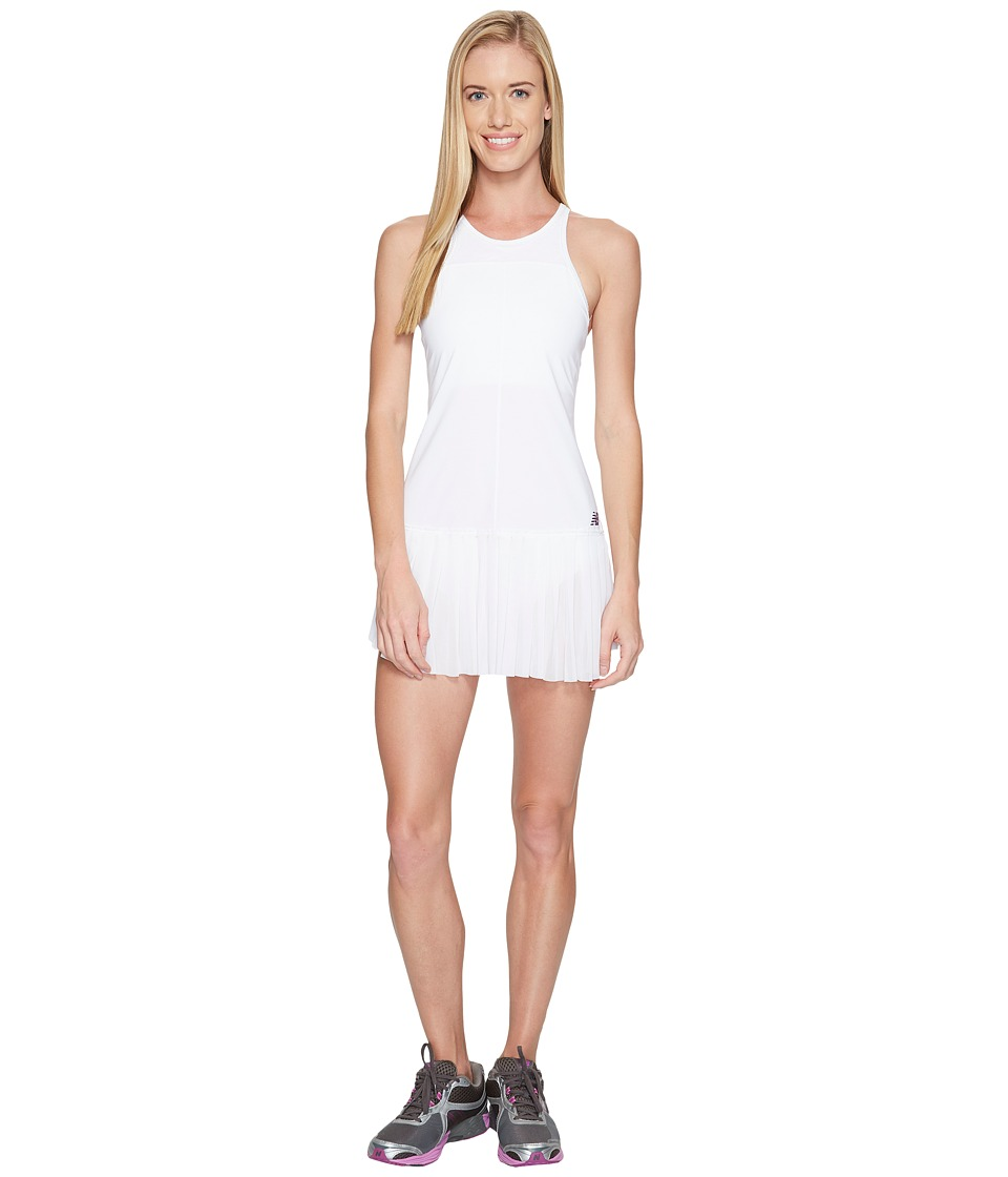 New Balance - English Rose Dress (White) Women's Dress