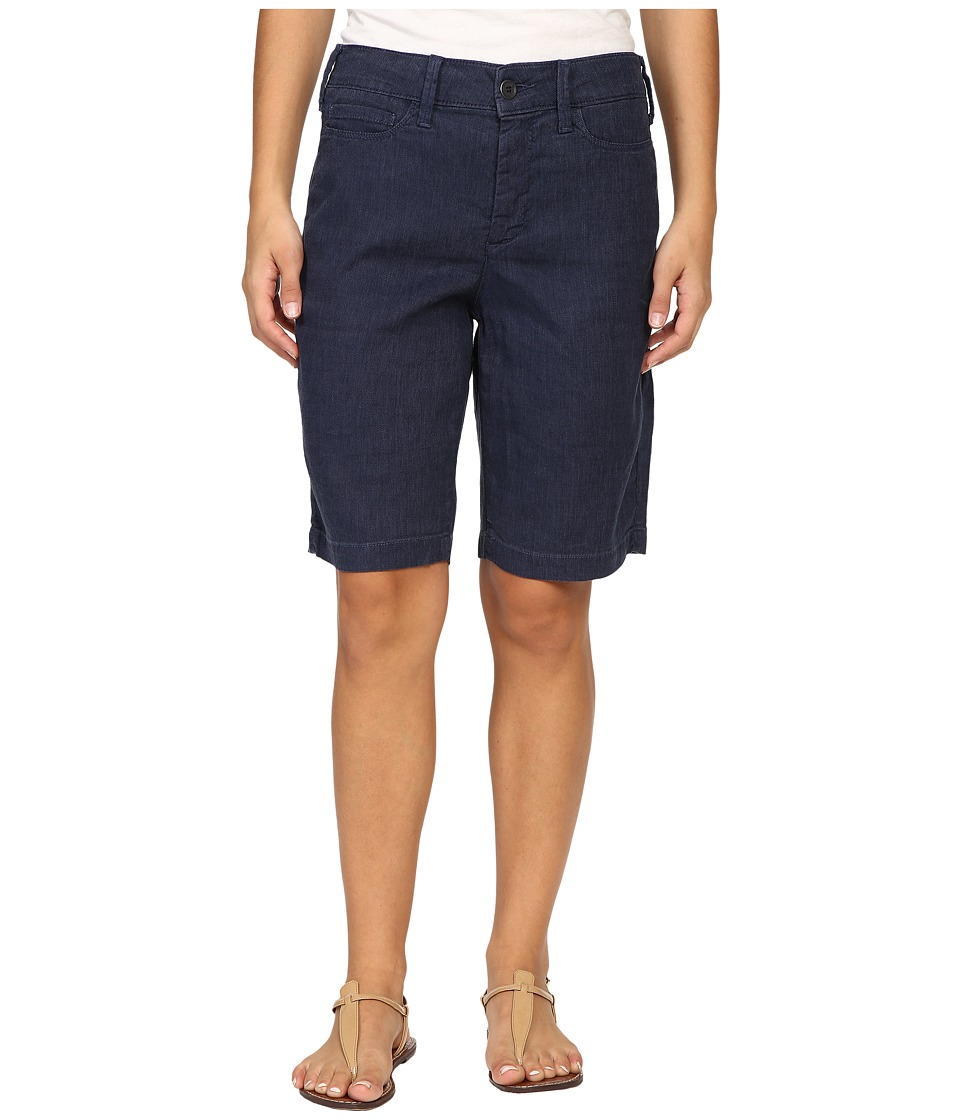 NYDJ Petite - Petite Catherine Shorts (Commander Blue) Women's Shorts
