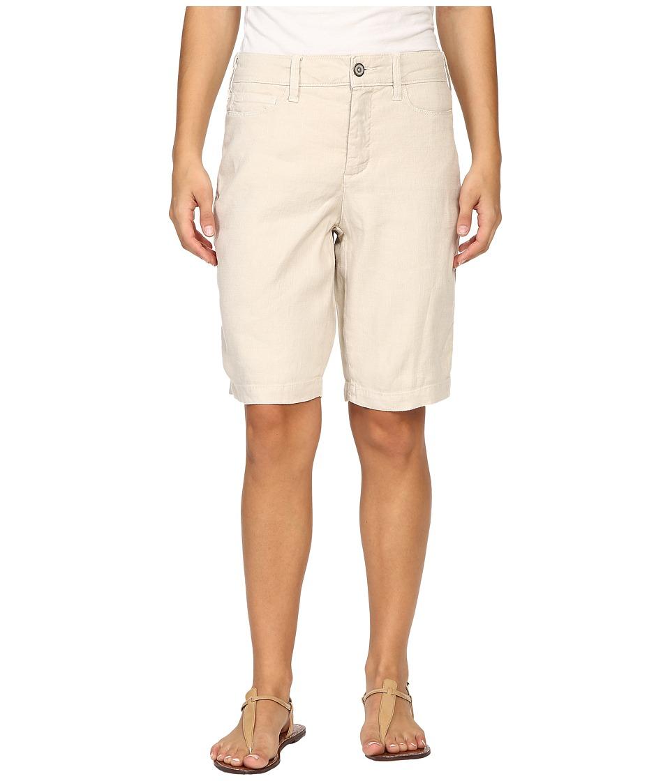 NYDJ Petite - Petite Catherine Shorts (Sand Dollar) Women's Shorts
