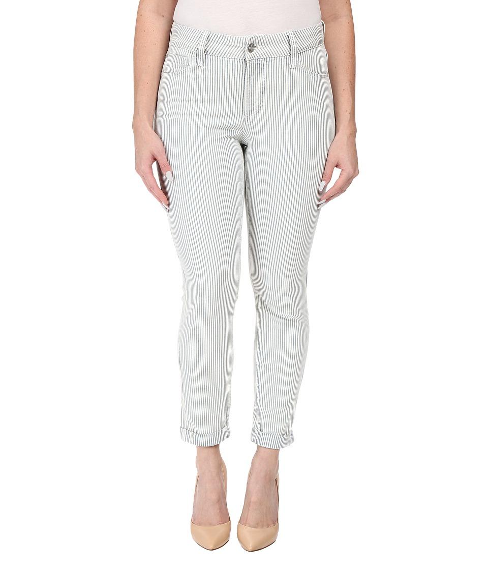 NYDJ Petite - Petite Nichelle Rolled Cuff Ankle Jeans in Verona (Verona) Women's Jeans