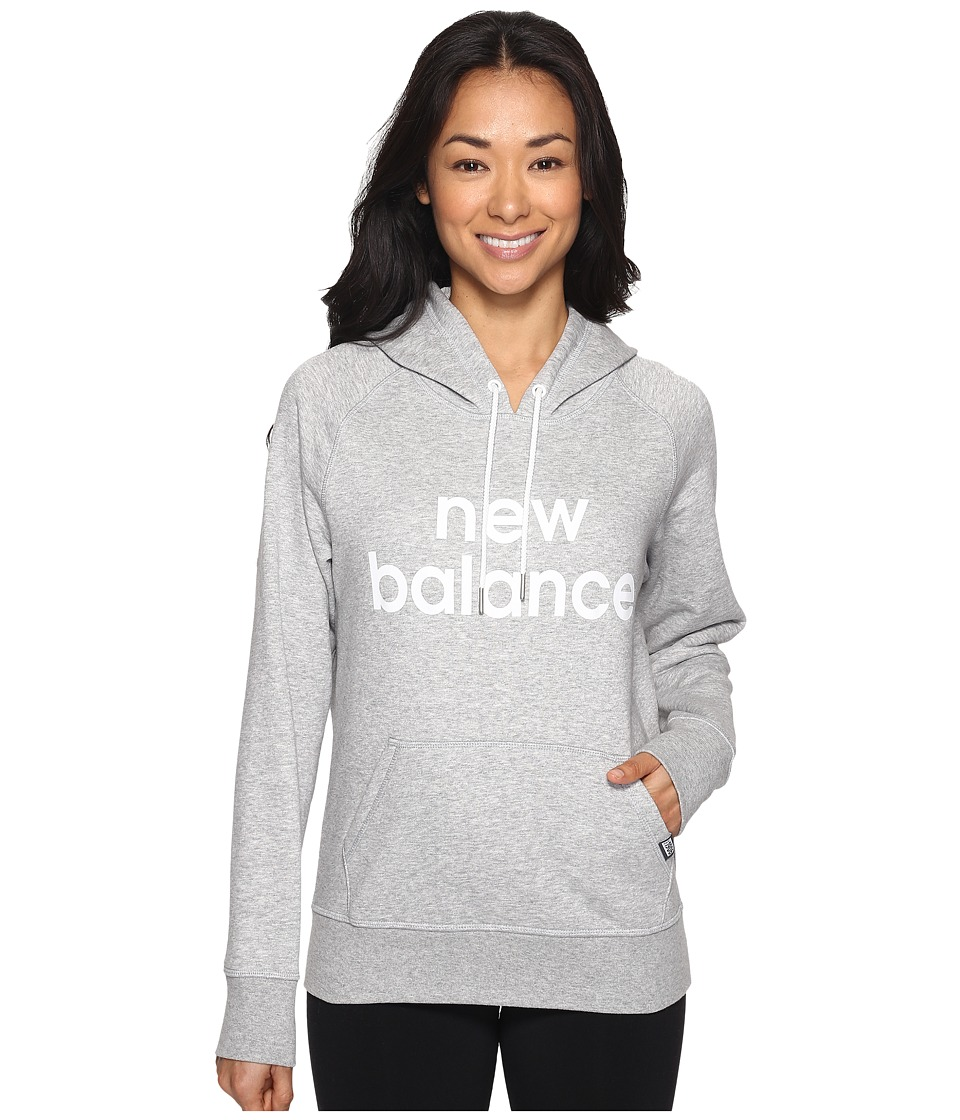 New Balance - Classic Pullover Hoodie (Athletic Grey) Women's Sweatshirt