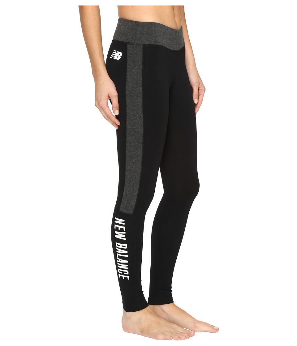 New Balance - Trackster Leggings (Black) Women's Workout