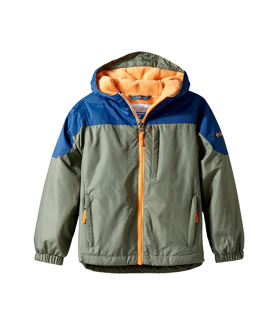 Columbia Kids - Ethan Pondtm Jacket (Little Kids/Big Kids) (Cypress/Carbon/Koi) Boy's Coat