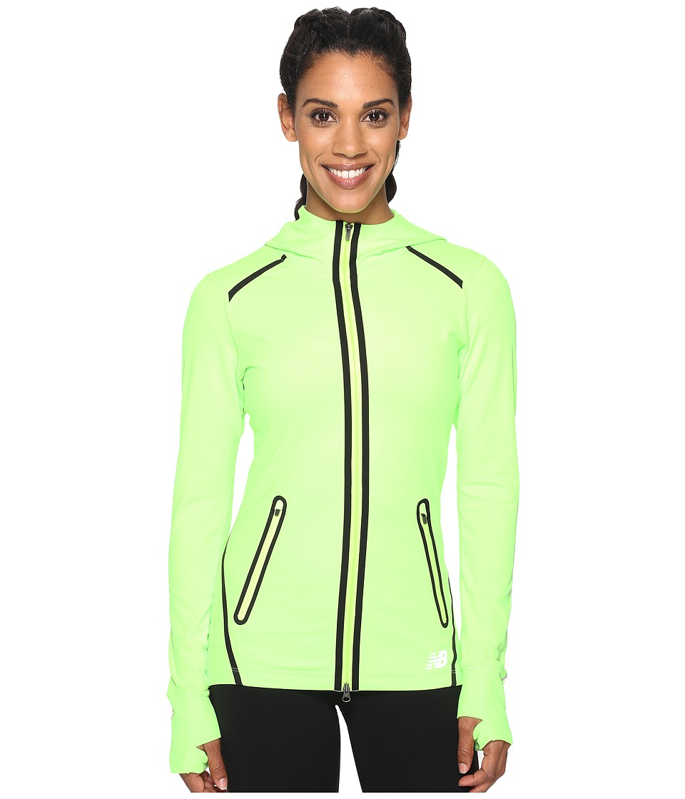 New Balance - Trinamic Jacket (Lime Glow) Women's Coat