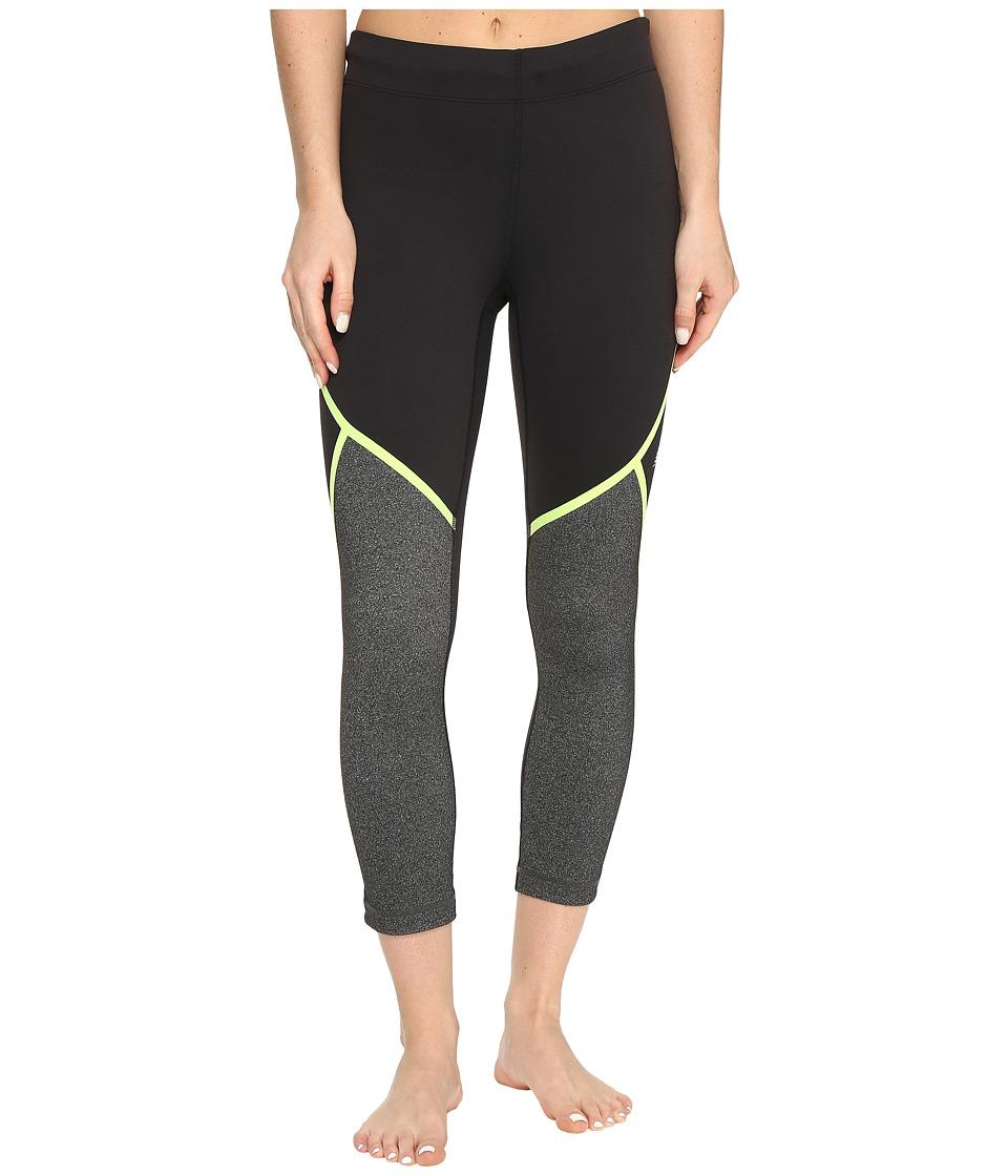 New Balance - Trinamic Capris (Lime Glow) Women's Workout