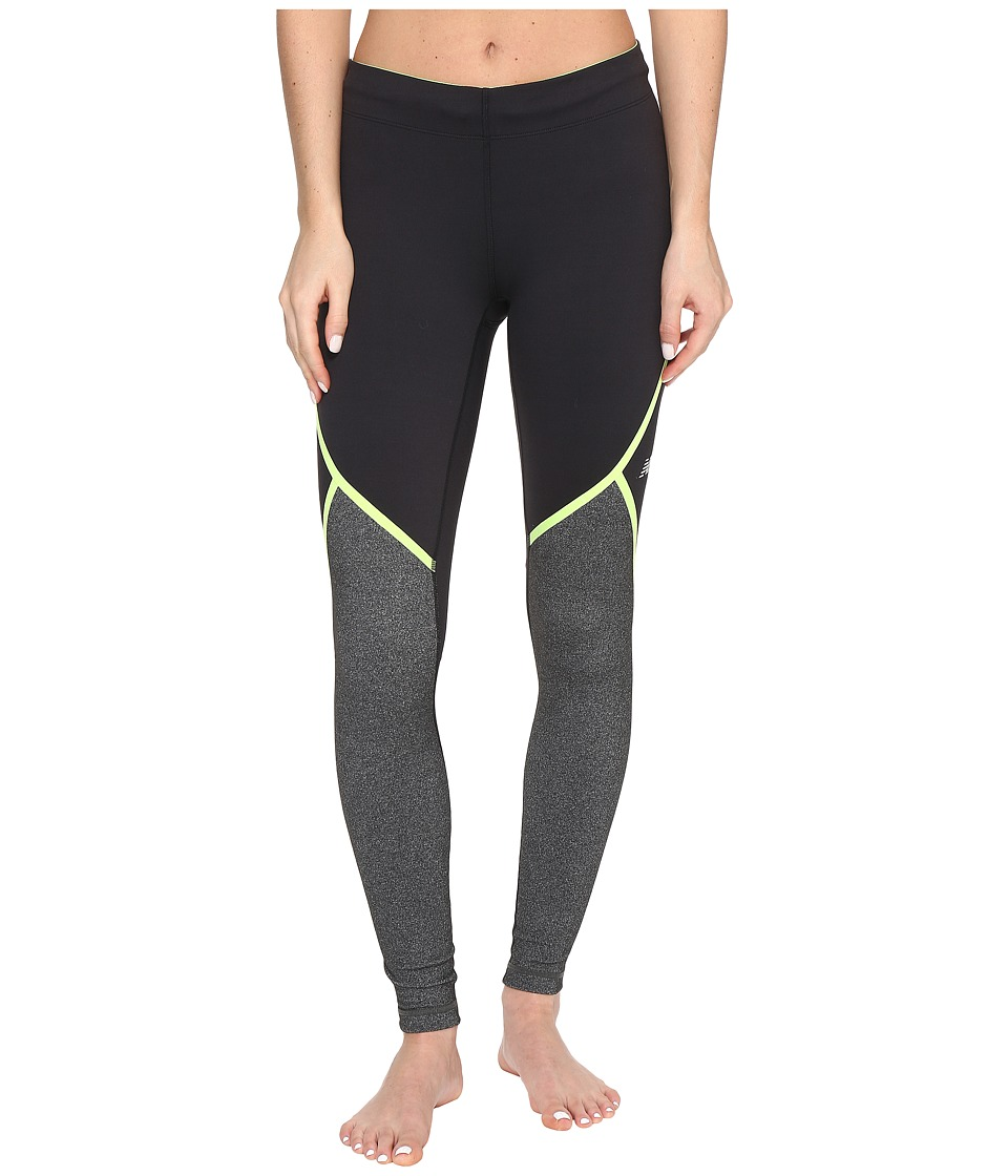New Balance - Trinamic Tights (Lime Glow) Women's Workout