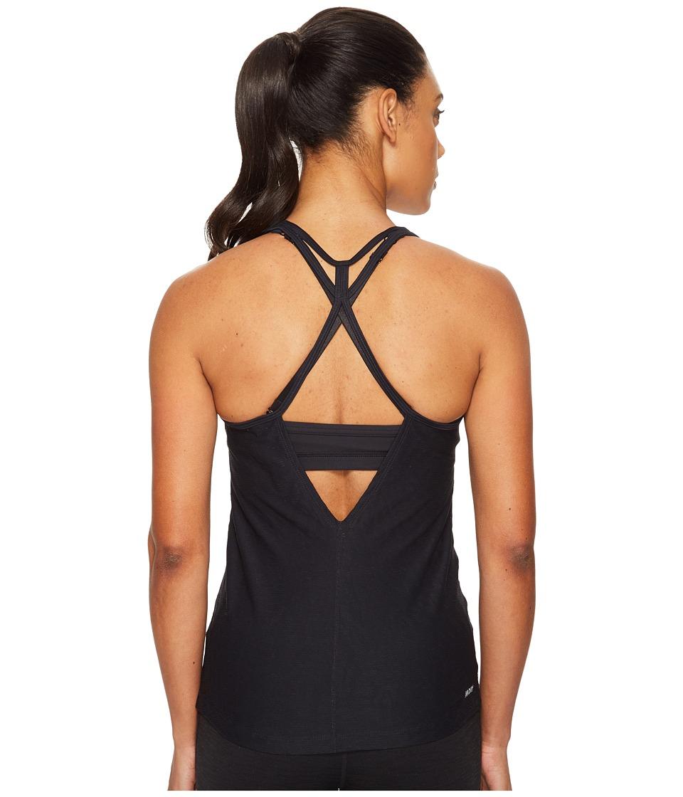 New Balance - Fashion Tank Top (Black) Women's Sleeveless