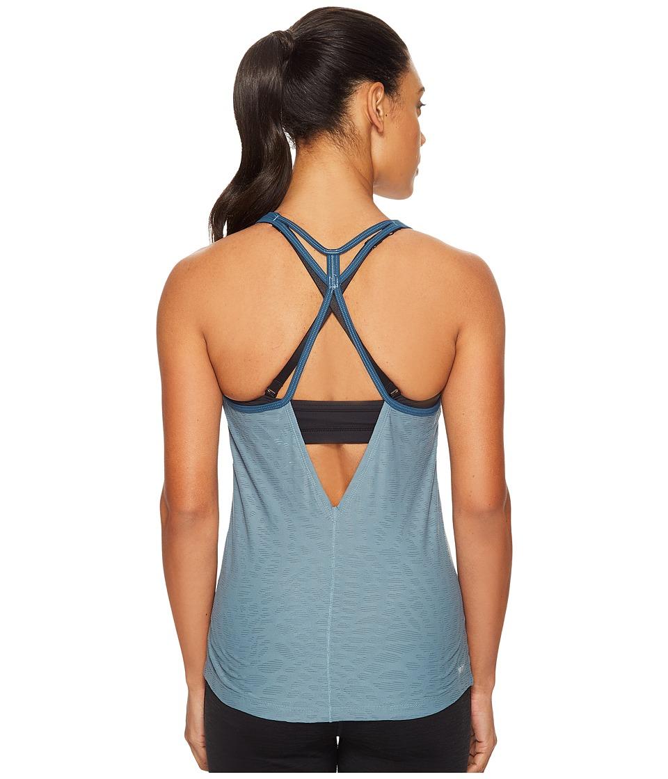 New Balance - Fashion Tank Top (Typhoon) Women's Sleeveless