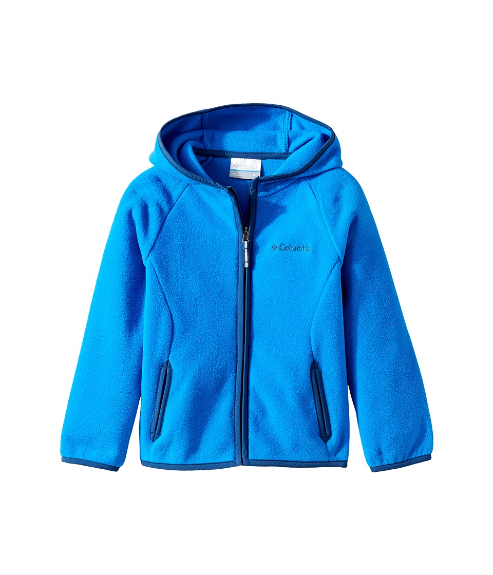 Columbia Kids - Fast Trektm Hoodie (Little Kids/Big Kids) (Super Blue/Carbon) Boy's Sweatshirt