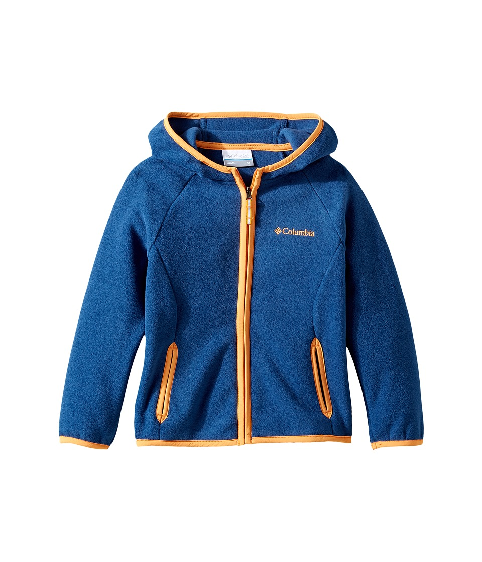 Columbia Kids - Fast Trektm Hoodie (Little Kids/Big Kids) (Carbon/Koi) Boy's Sweatshirt