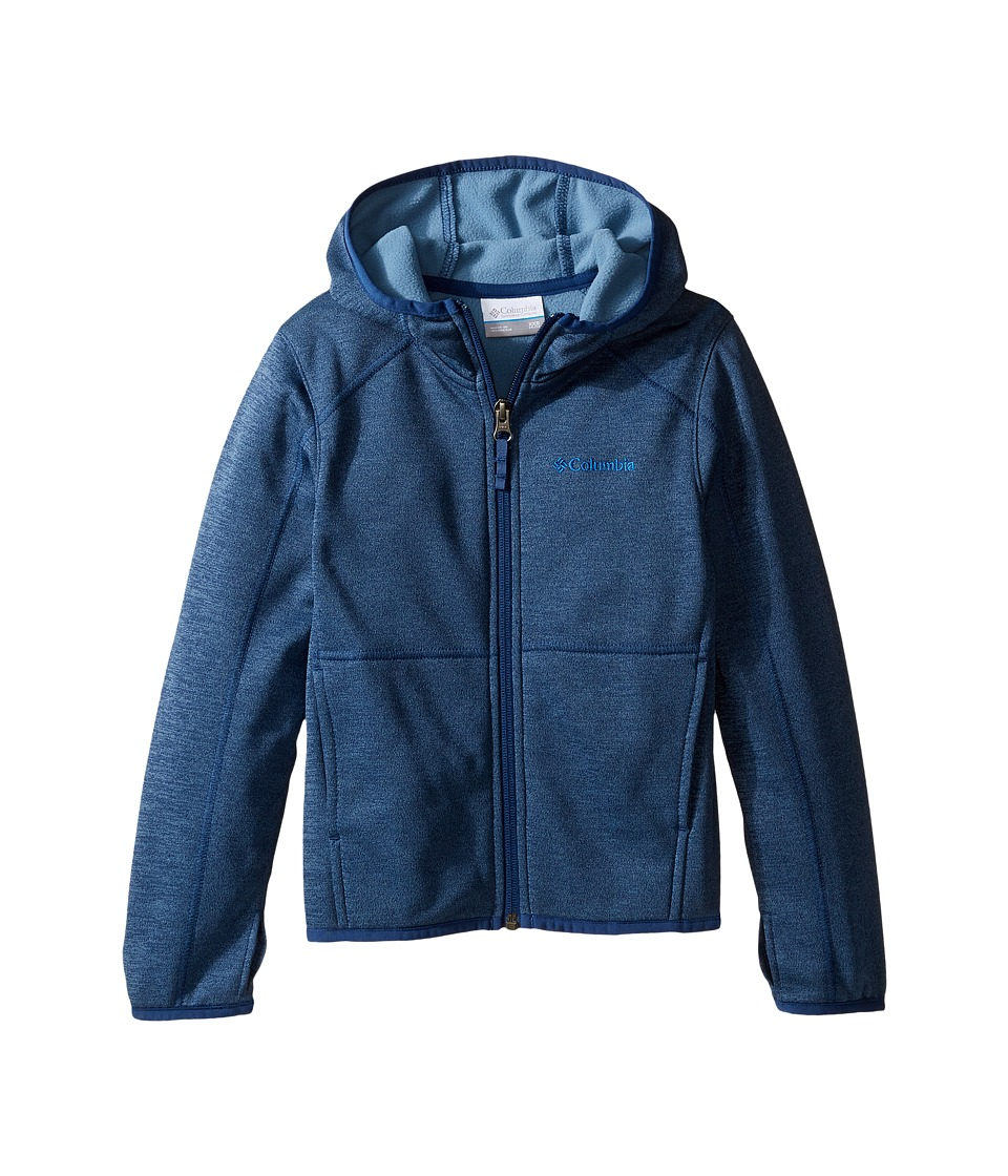 Columbia Kids - S'more Adventure Full Zip Hoodie (Little Kids/Big Kids) (Carbon Heather) Boy's Sweatshirt