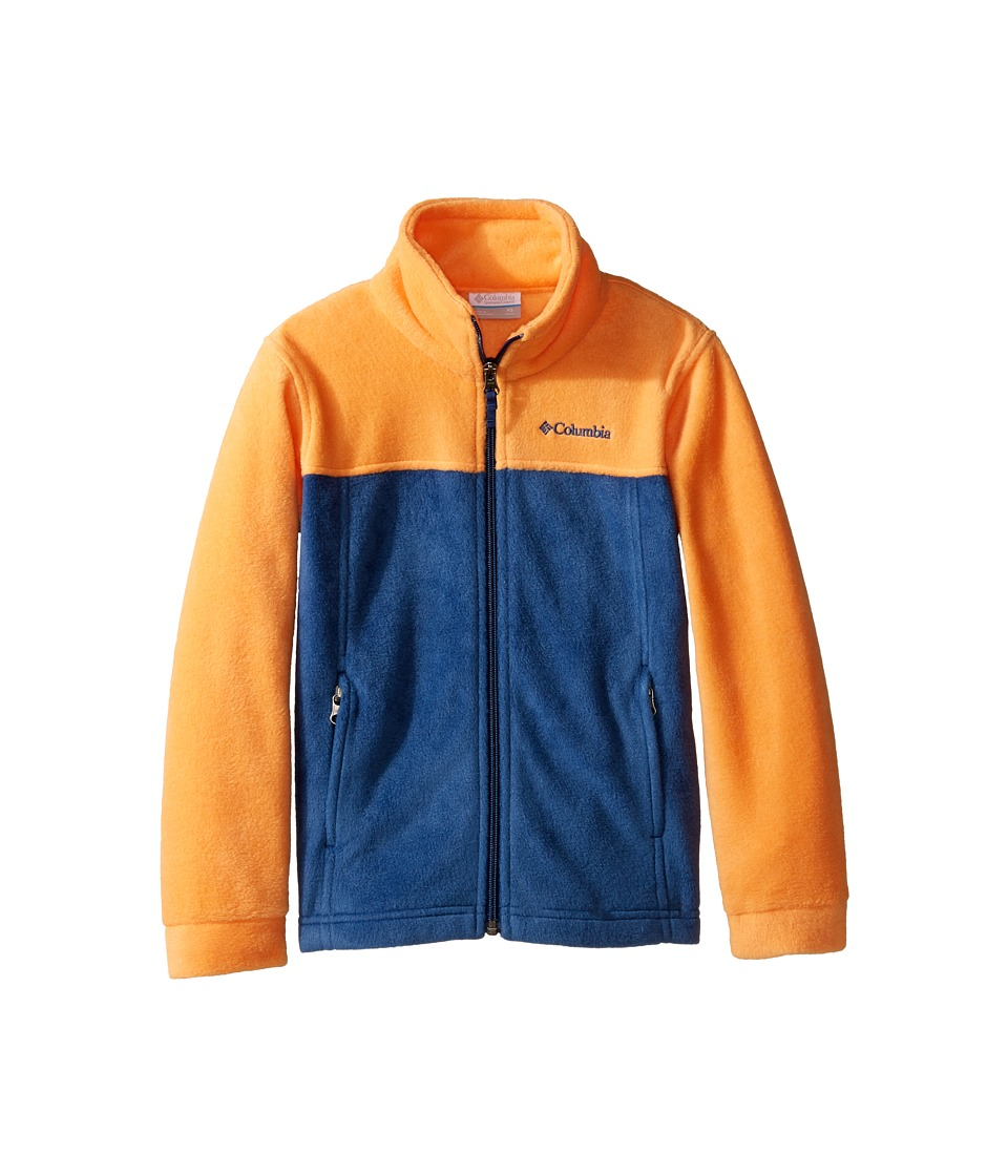 Columbia Kids - Steens Mttm II Fleece (Little Kids/Big Kids) (Koi/Carbon/Carbon) Boy's Fleece
