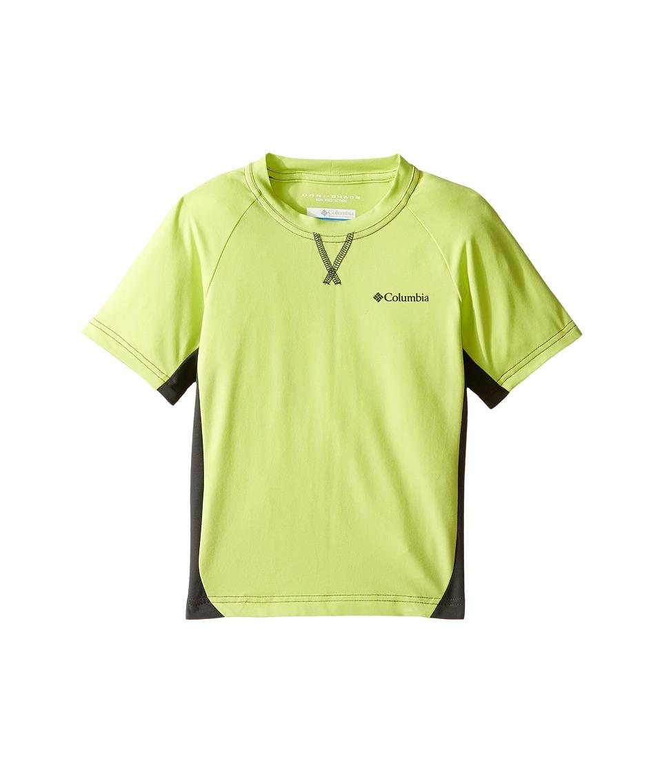 Columbia Kids - Silver Ridgetm Short Sleeve Tee (Little Kids/Big Kids) (Voltage/Shark) Boy's Short Sleeve Pullover