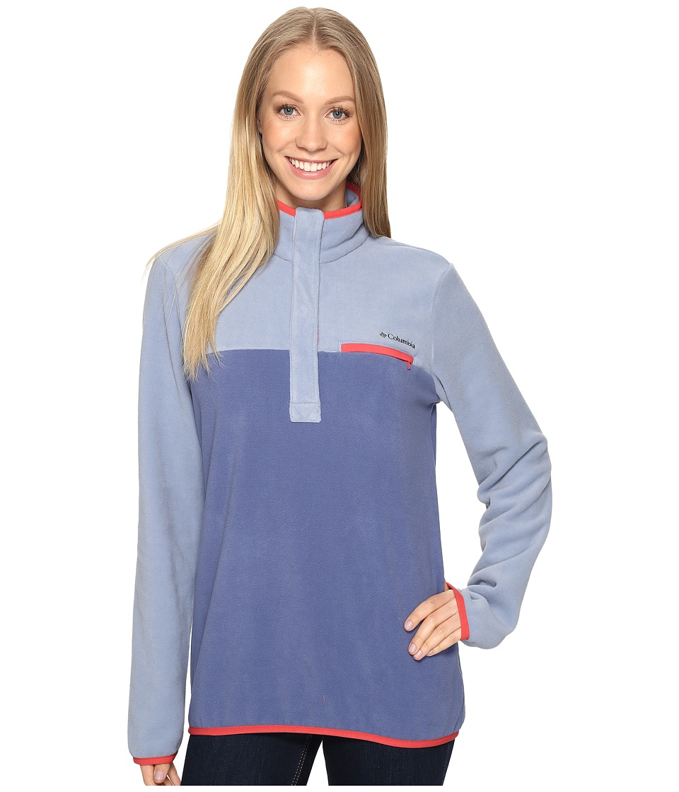 Columbia - Mountain Side Pullover (Beacon/Bluebell) Women's Long Sleeve Pullover
