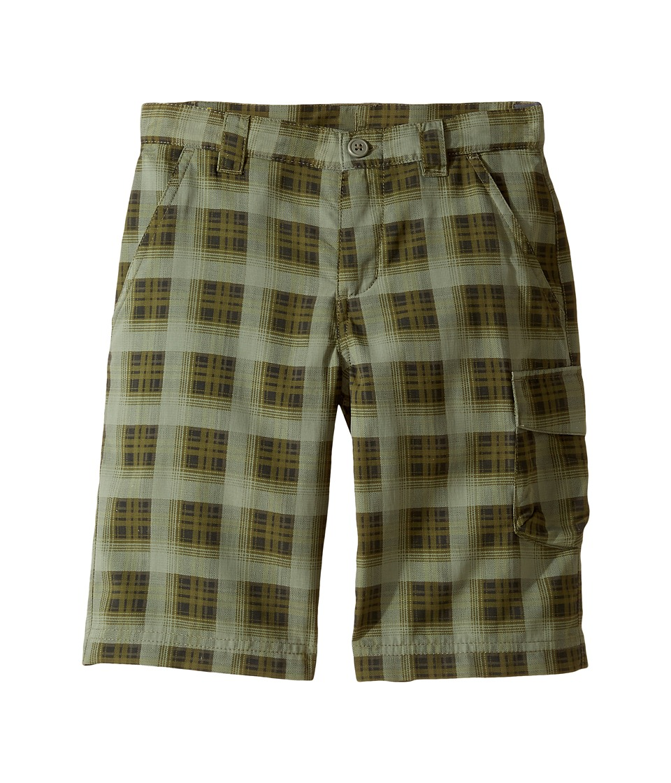 Columbia Kids - Silver Ridge Printed Shorts (Little Kids/Big Kids) (Cypress Plaid) Boy's Shorts