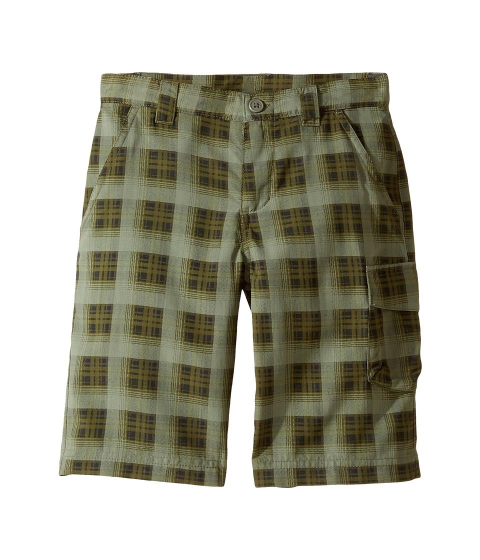 Columbia Kids - Silver Ridge Printed Shorts (Little Kids/Big Kids) (Cypress Plaid) Boy's Shorts