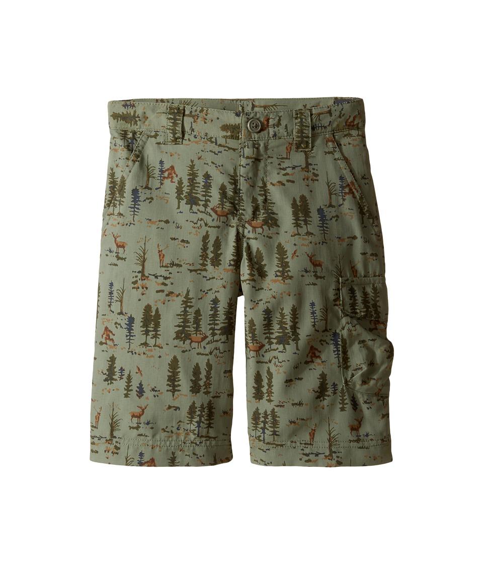 Columbia Kids - Silver Ridge Printed Shorts (Little Kids/Big Kids) (Cypress Woddland Critters) Boy's Shorts