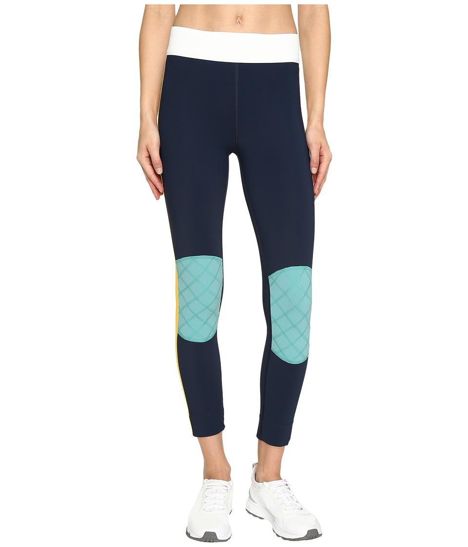 NO KA'OI - Kuke 7/8 Leggings (Saffron/Aloe/Ice/Marine) Women's Casual Pants