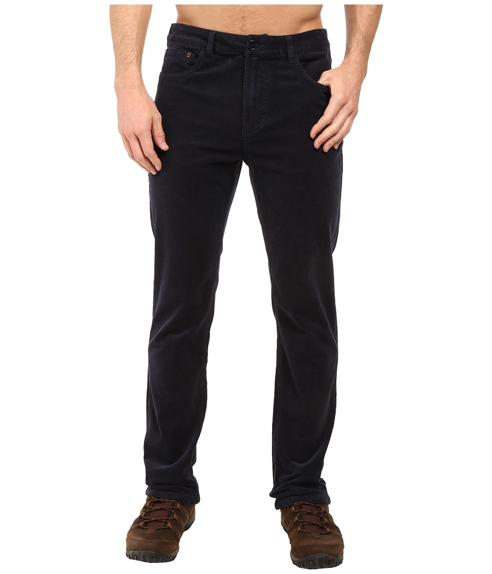 United By Blue - Harrison Corduroy Pants (Navy) Men's Casual Pants