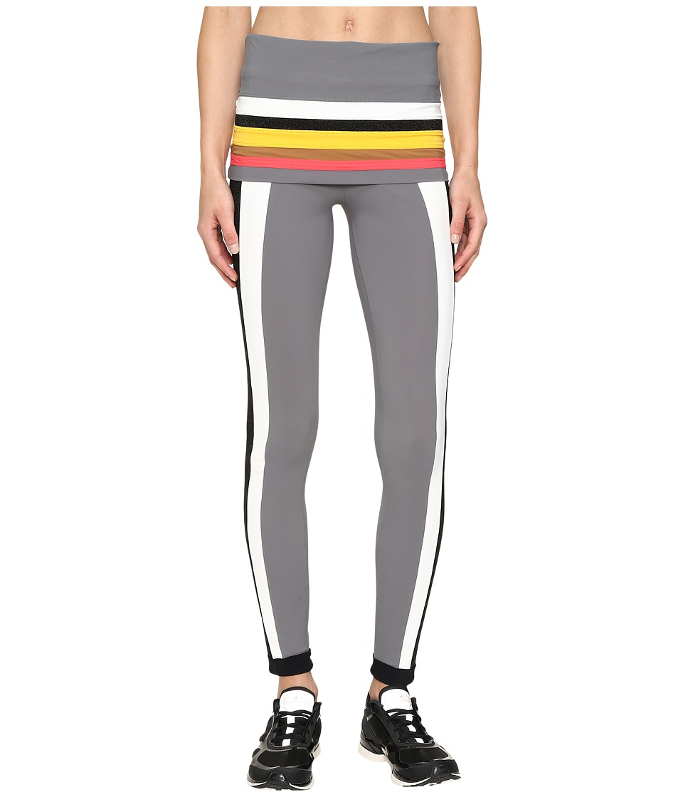 NO KA'OI - Kalia Leggings (Multicolor White) Women's Casual Pants