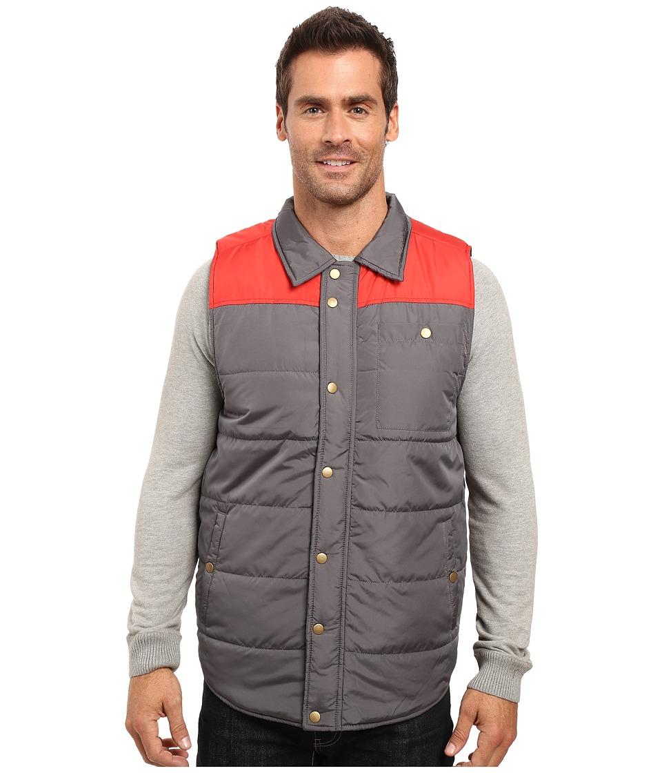 United By Blue - Hektor Vest (Red/Grey) Men's Vest