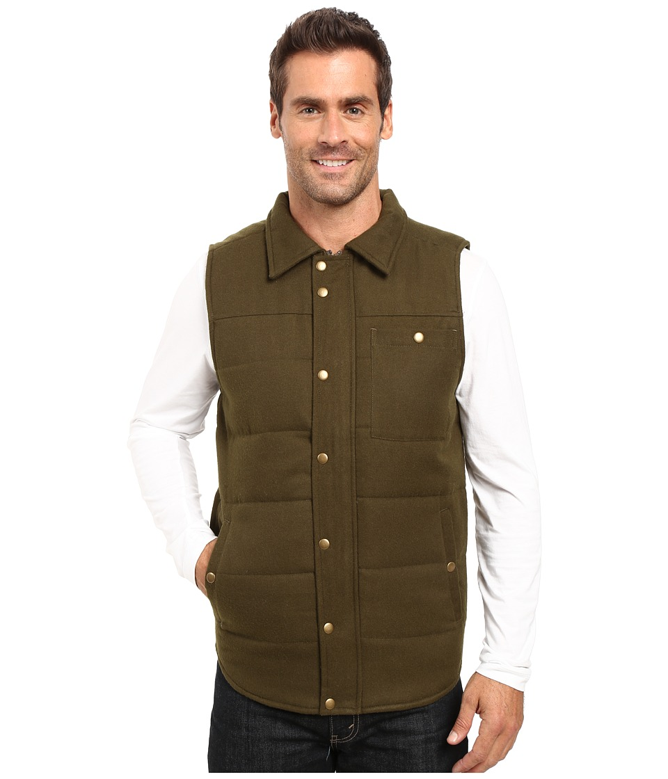 United By Blue - Drummond Wool Vest (Forest) Men's Vest