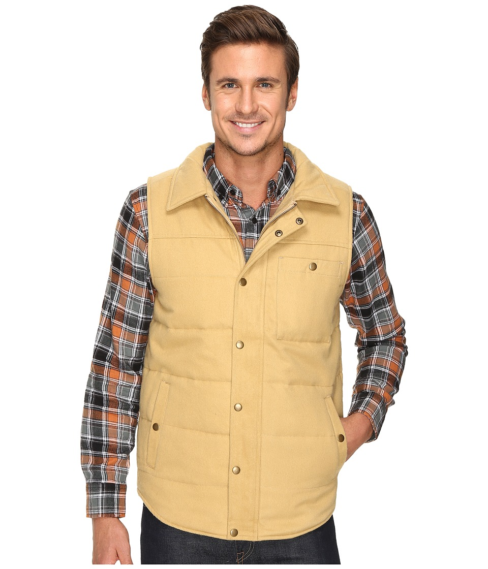 United By Blue - Drummond Wool Vest (Tan) Men's Vest