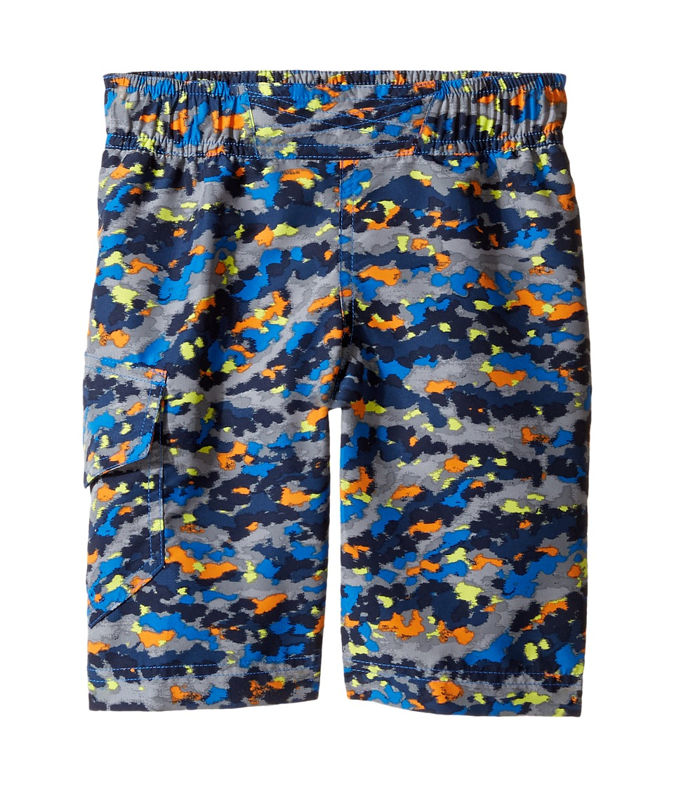 Columbia Kids - Solar Streamtm II Boardshort (Little Kids/Big Kids) (Super Blue Camo) Boy's Swimwear