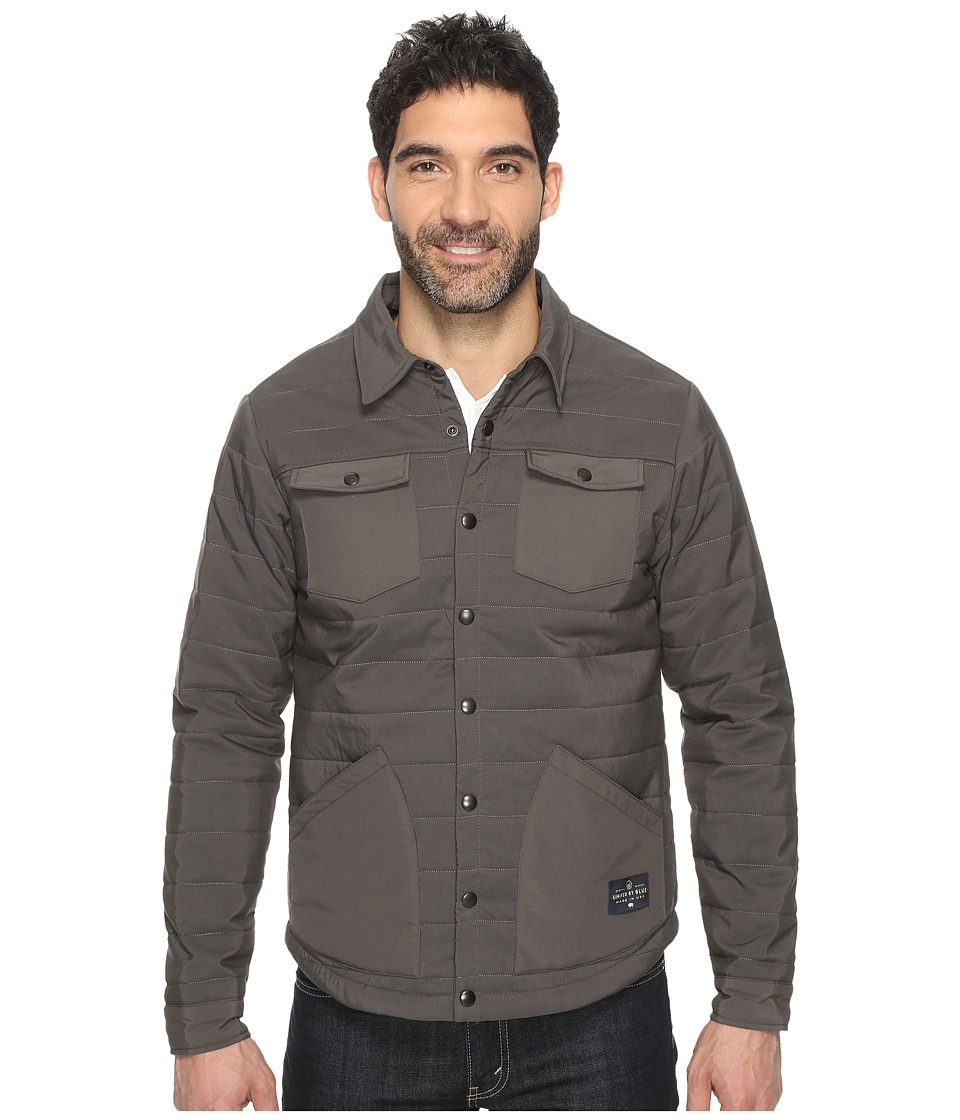 United By Blue - Bison Snap Jacket (Charcoal) Men's Coat