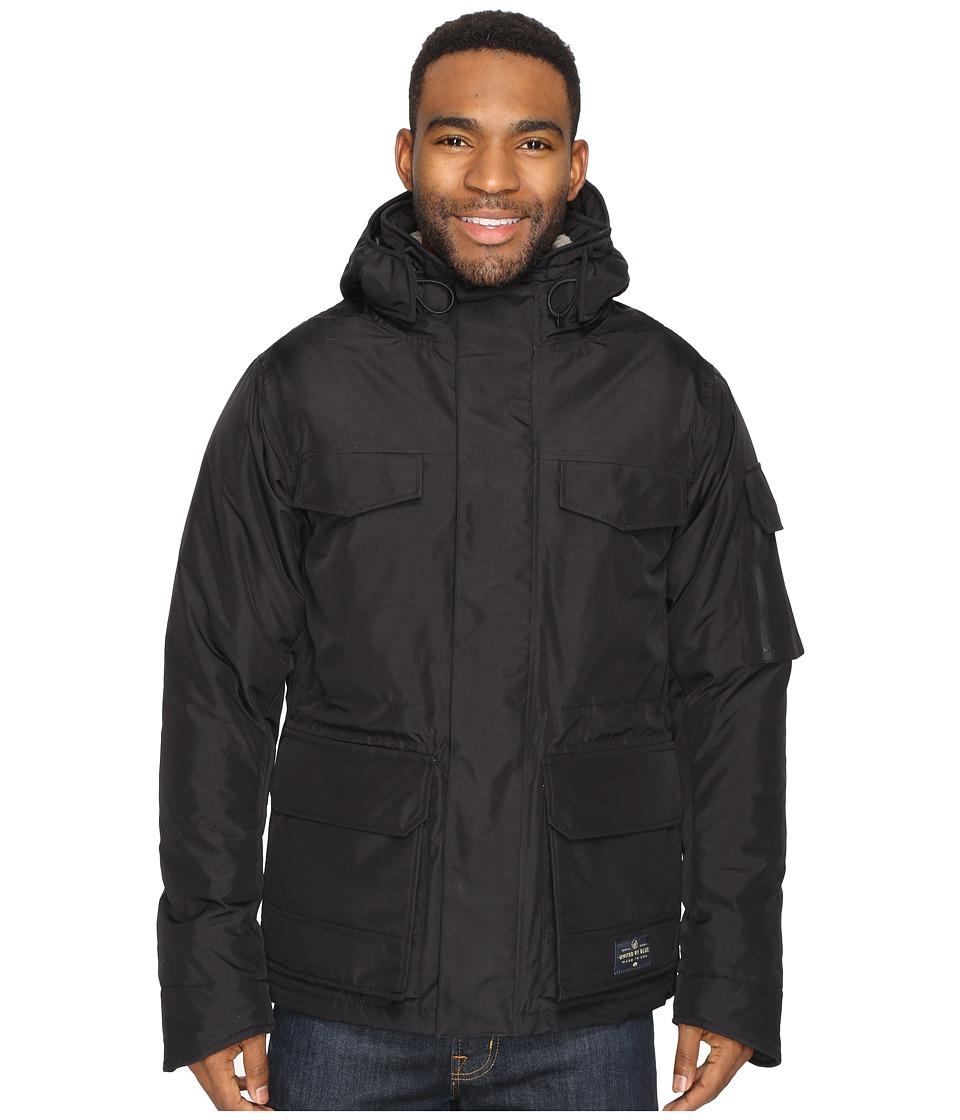 United By Blue - Ultimate American Jacket (Black) Men's Coat