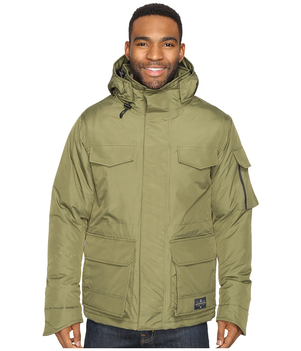 United By Blue - Ultimate American Jacket (Olive) Men's Coat