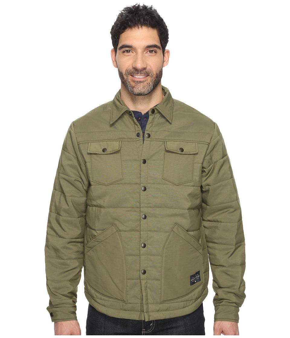 United By Blue - Bison Snap Jacket (Olive) Men's Coat