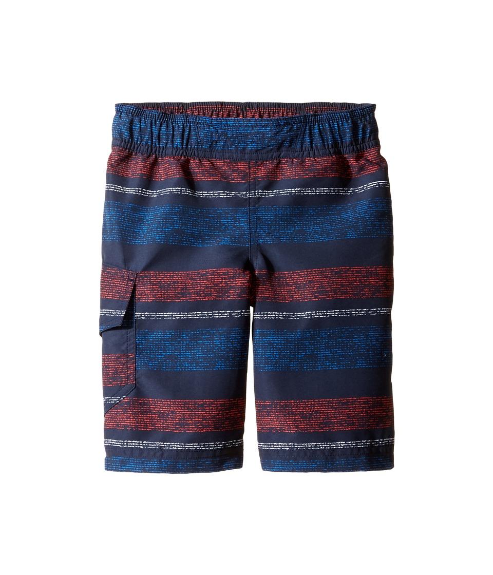 Columbia Kids - Solar Streamtm II Boardshort (Little Kids/Big Kids) (Collegiate Navy Stripe 1) Boy's Swimwear