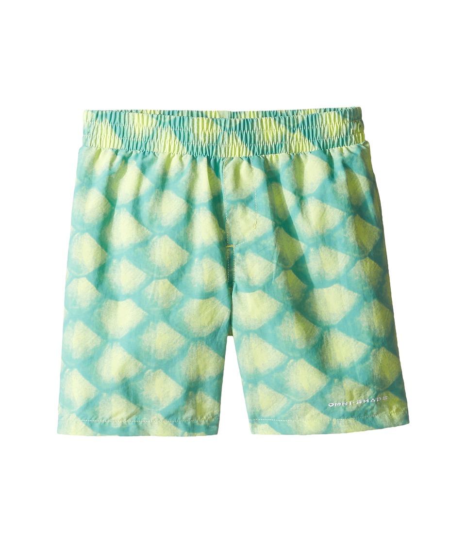 Columbia Kids - Super Backcast Shorts (Little Kids/Big Kids) (Tippet Scales) Boy's Shorts