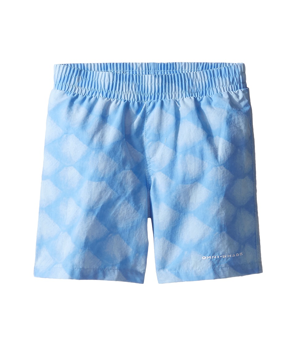 Columbia Kids - Super Backcast Shorts (Little Kids/Big Kids) (White Cap Scales) Boy's Shorts