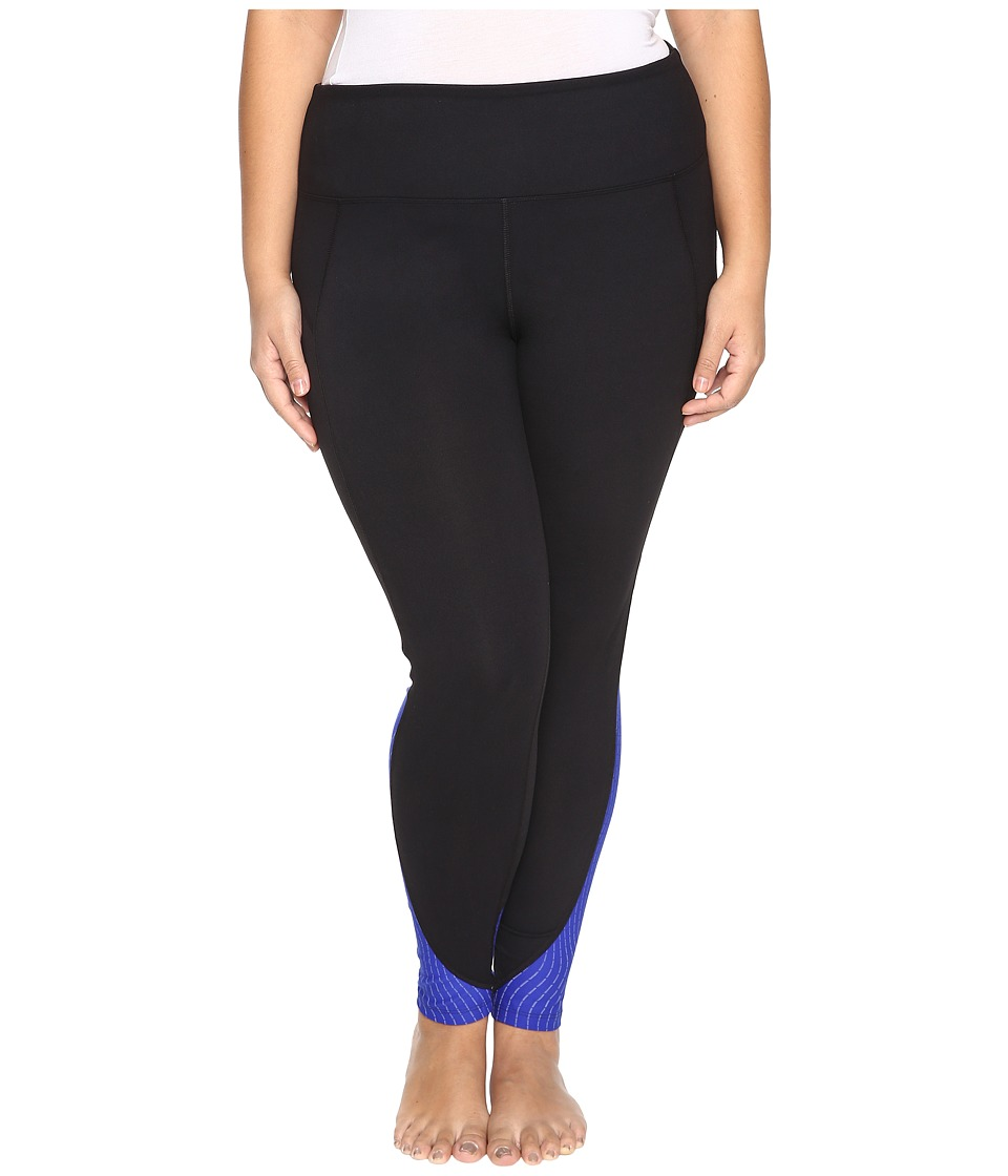 Marika Curves - Plus Size Jordan Glare Leggings (Cobalt Ink) Women's Casual Pants