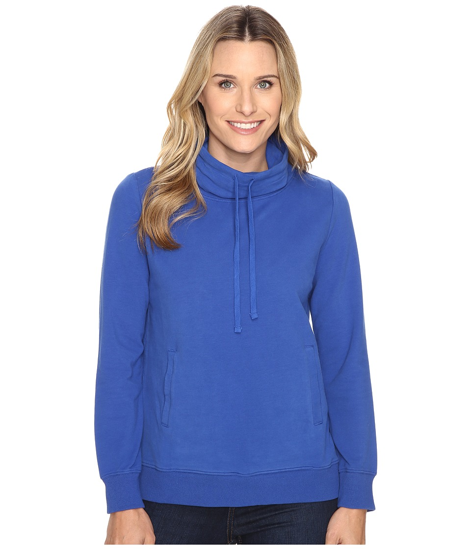 United By Blue - Highly Cowl Neck Pullover (Blueprint) Women's Clothing