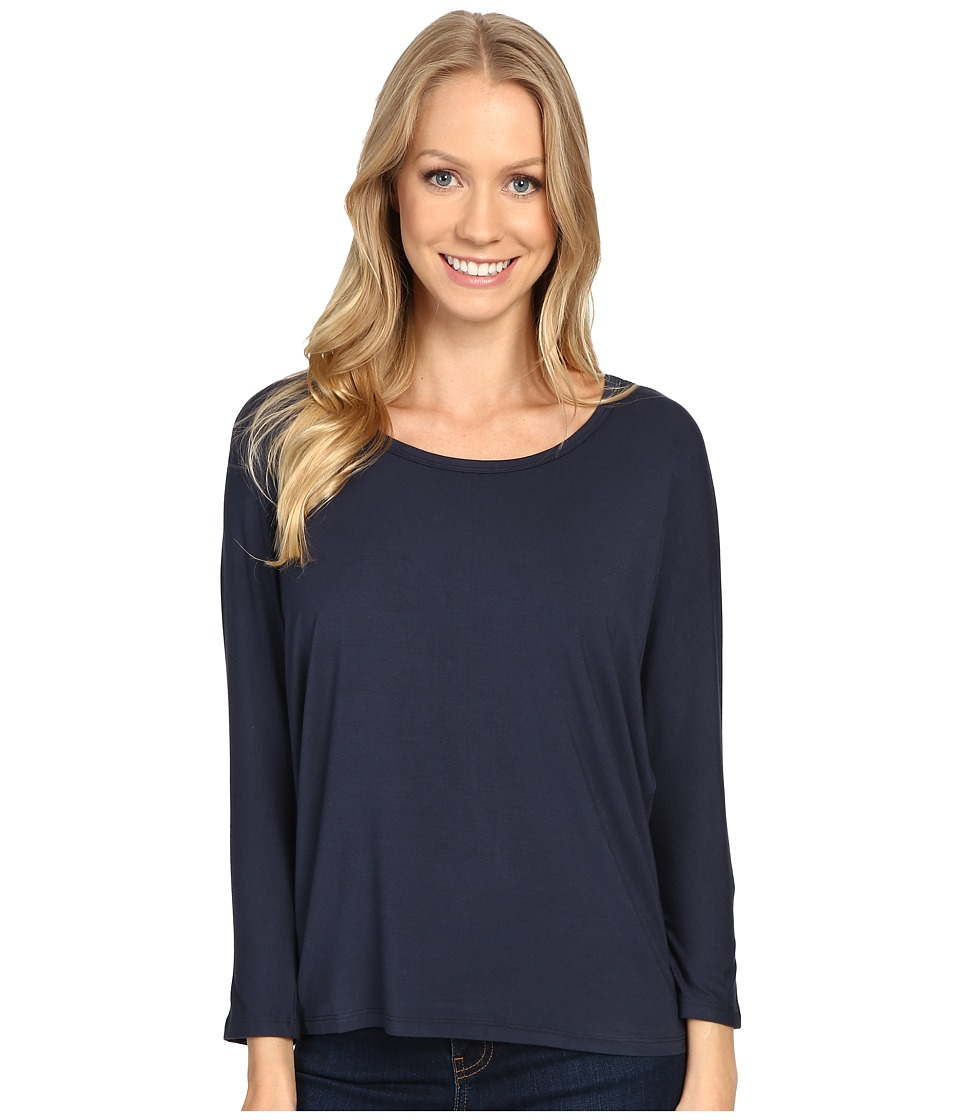 United By Blue - Standard Dolman Shirt (Navy) Women's Clothing
