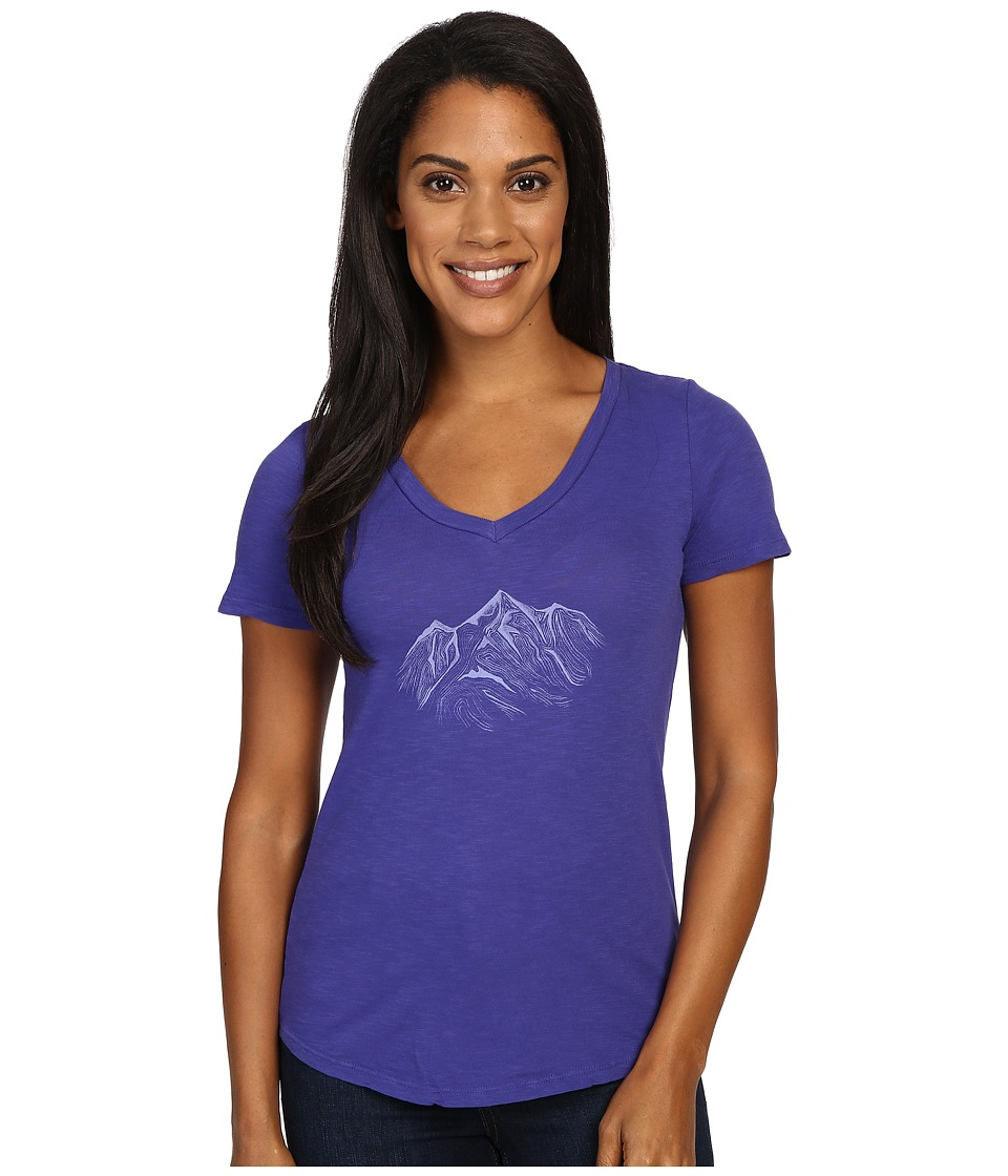 United By Blue - Mountain Drift (Cobalt) Women's Clothing