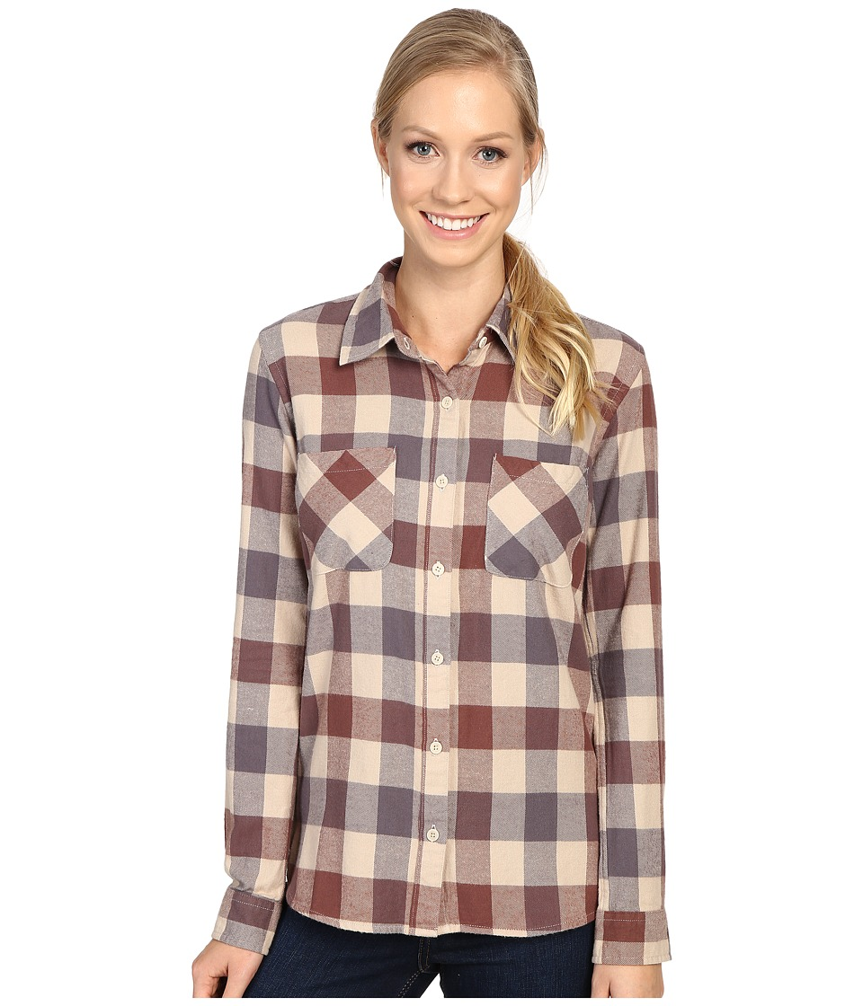 United By Blue - Beech Plaid (Brown) Women's Clothing